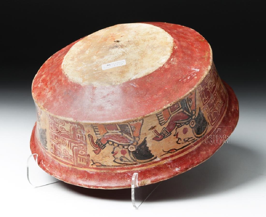 Mayan Polychrome Copador Bowl - 6