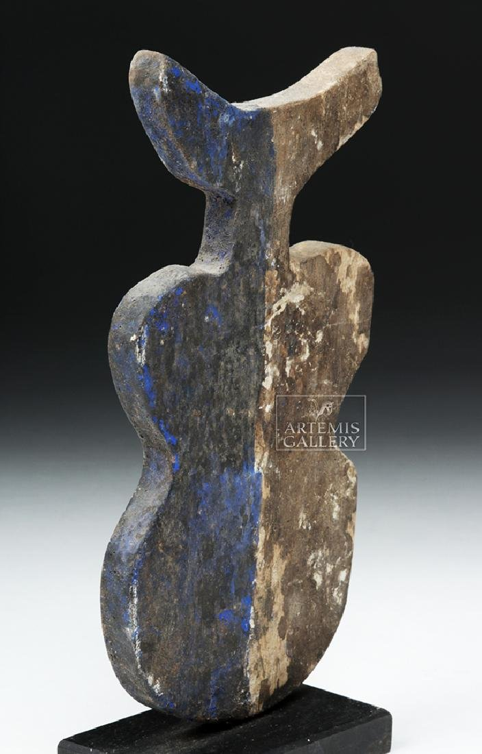 20th C. African Adan Wooden Divination Object - 4