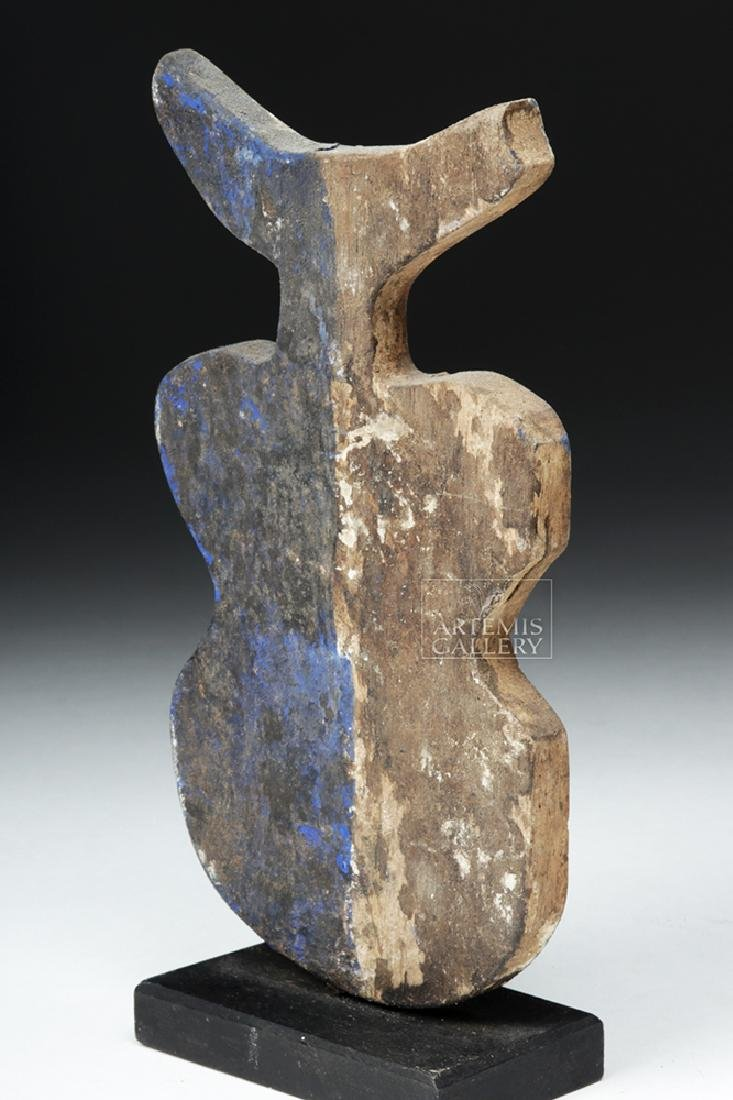 20th C. African Adan Wooden Divination Object - 5