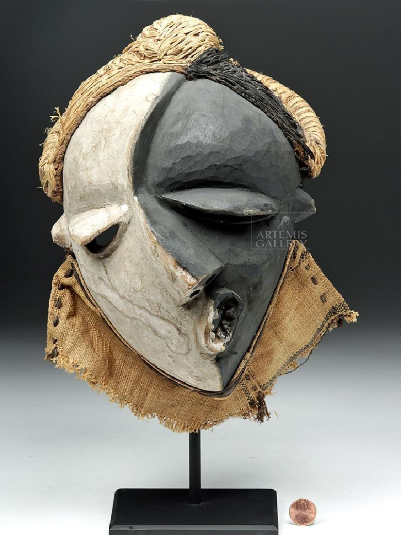 Rare African Pende Mbangu Wooden Mask