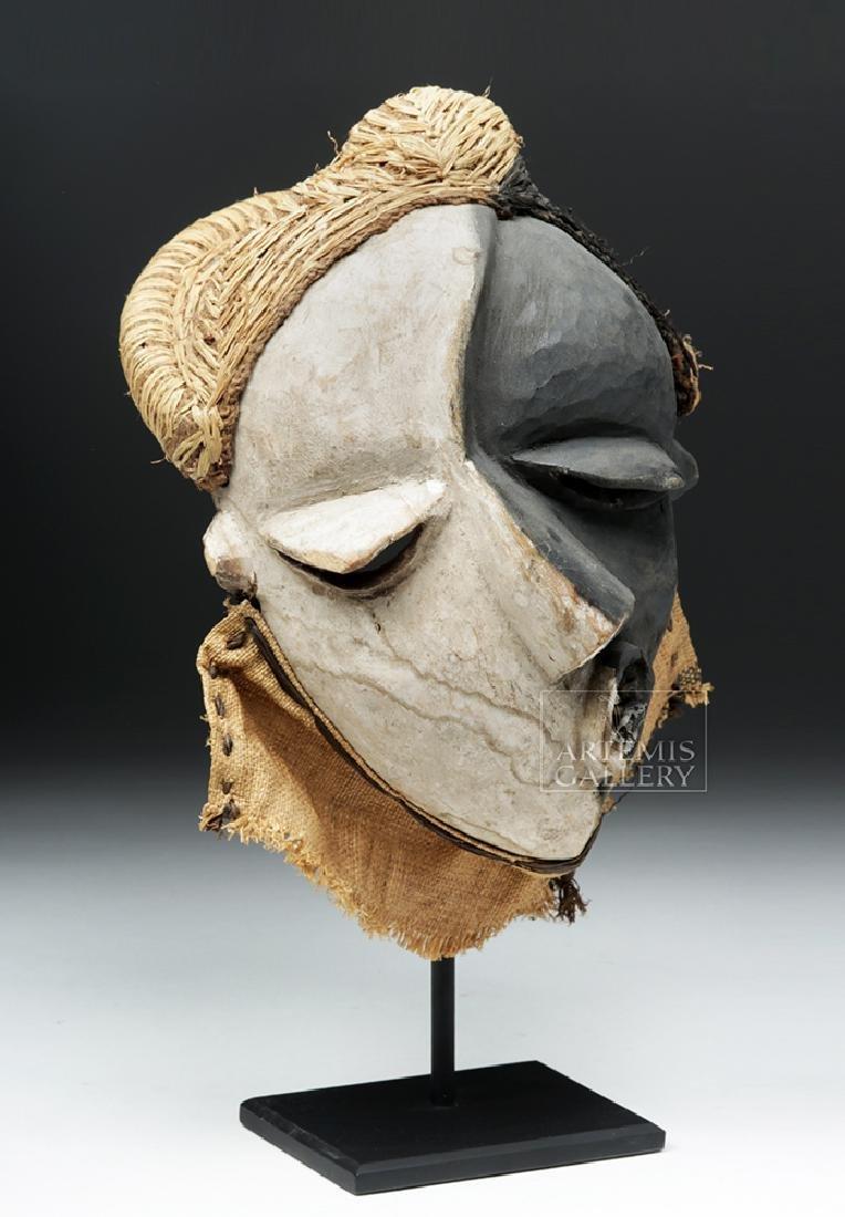 Rare African Pende Mbangu Wooden Mask - 2