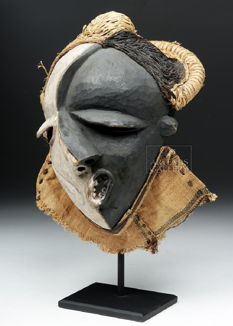 Rare African Pende Mbangu Wooden Mask - 3