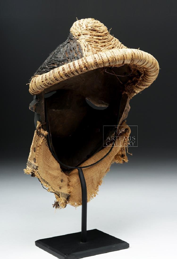 Rare African Pende Mbangu Wooden Mask - 4