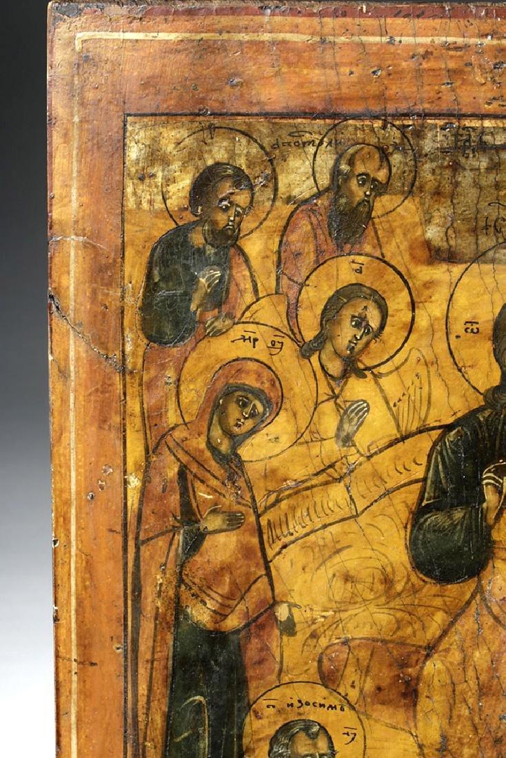 Early 18th C. Greek Icon - Christ Pantokrator - 2