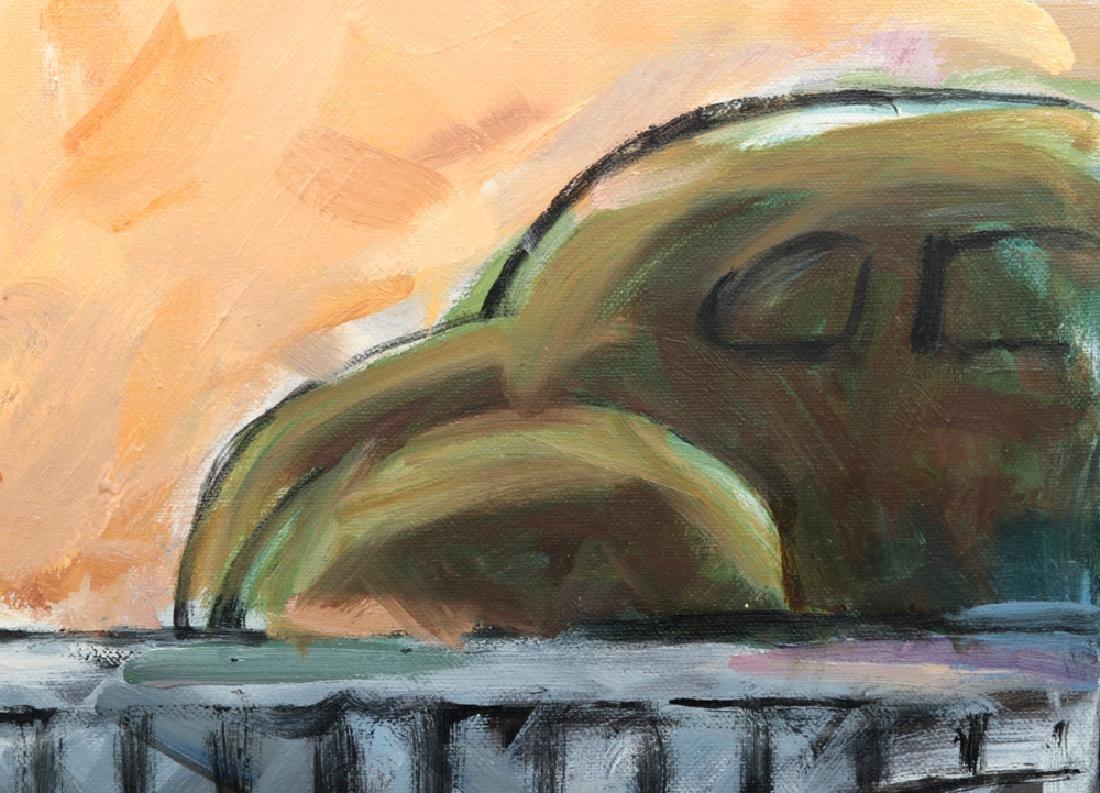"L. Dennis Painting - ""Merging Traffic"" - 1990 - 2"