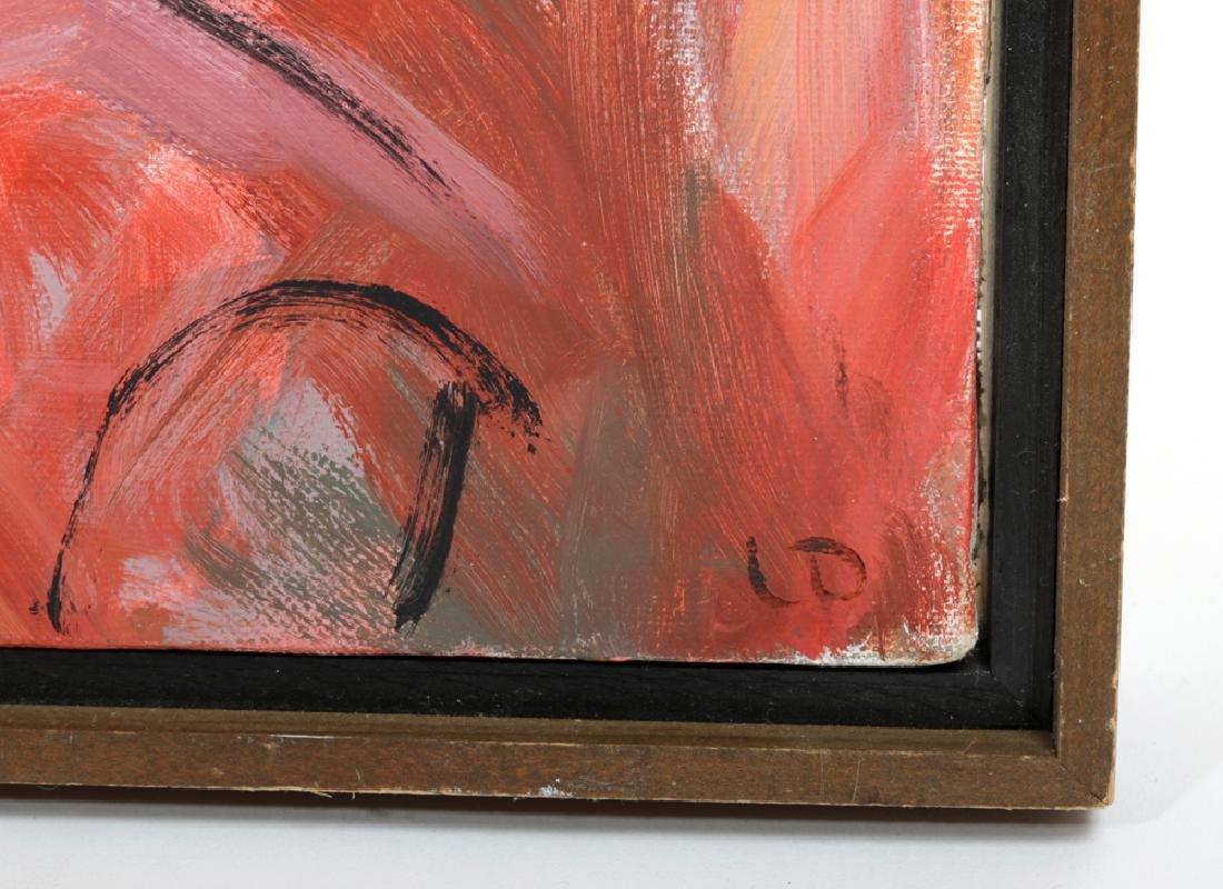 "L. Dennis Painting - ""Merging Traffic"" - 1990 - 3"