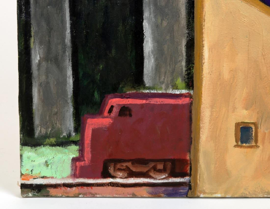 "L. Dennis Painting - ""Ramp (Emerson)"" 2008 - 2"