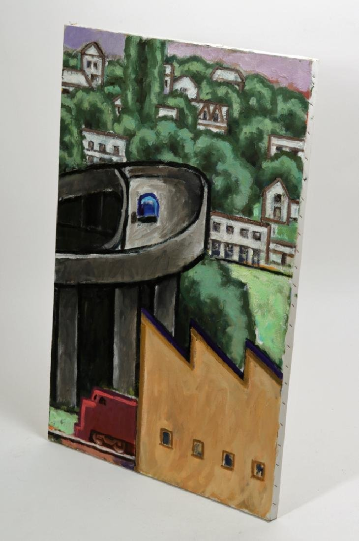 "L. Dennis Painting - ""Ramp (Emerson)"" 2008 - 4"