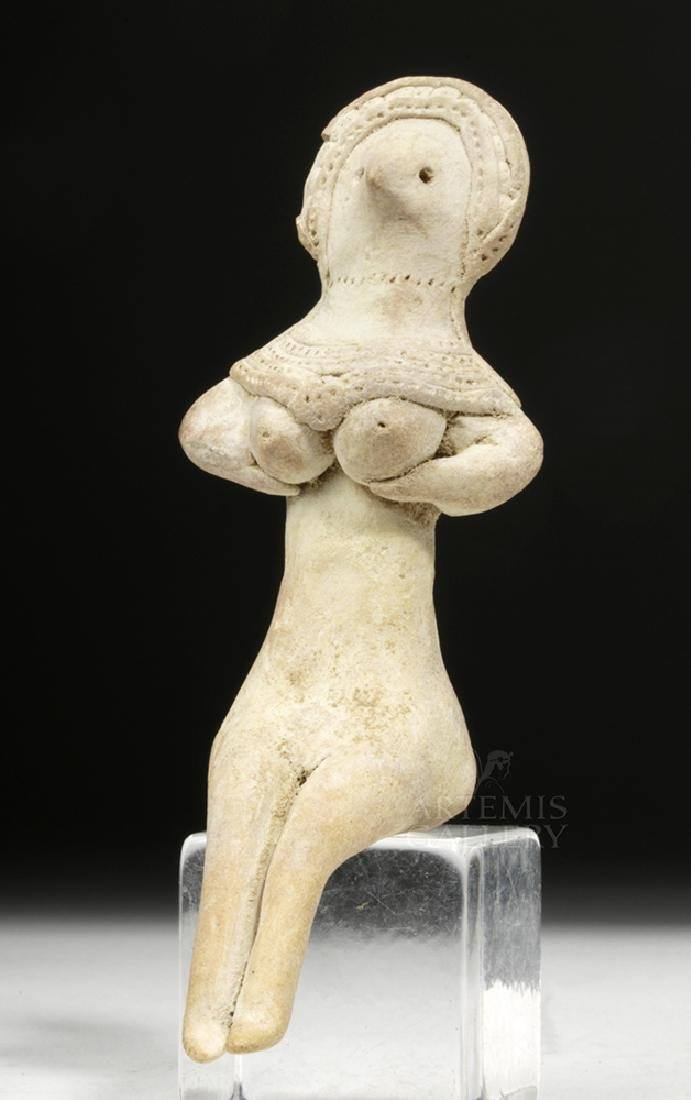Indus Valley Pottery Mother Goddess Figure - 2