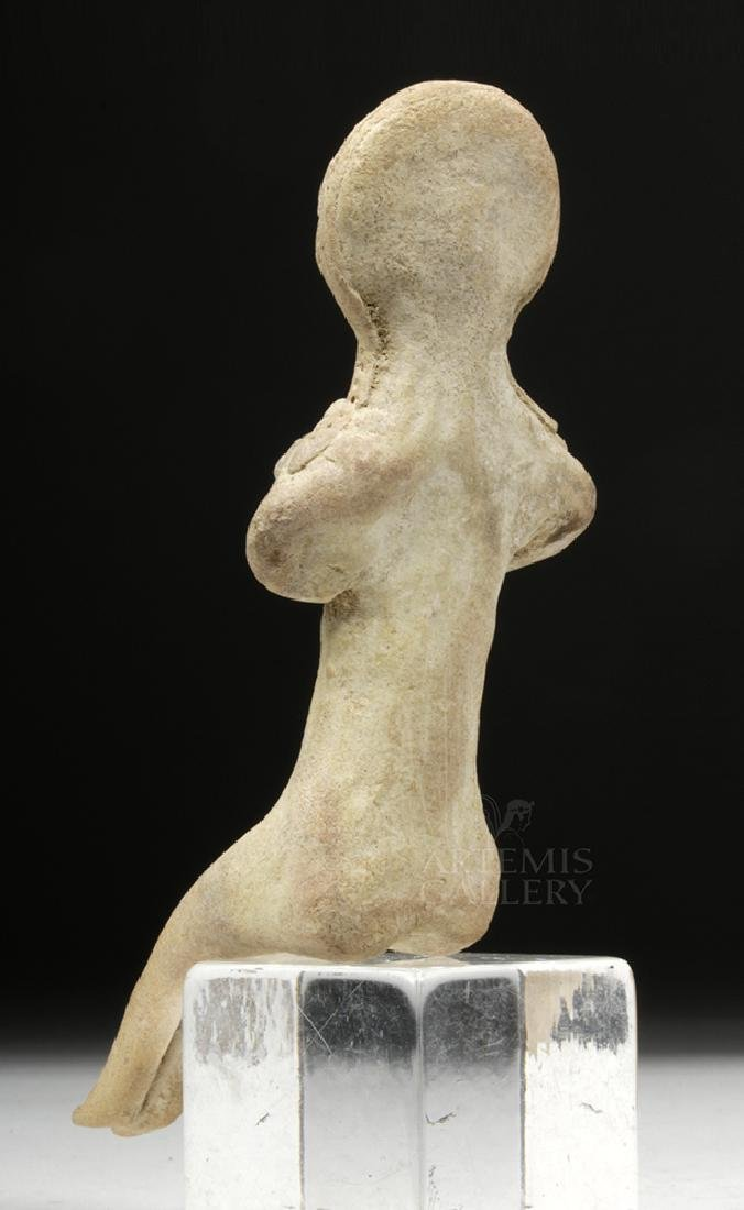 Indus Valley Pottery Mother Goddess Figure - 4