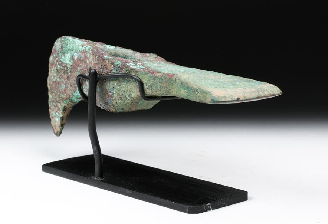Large Central Asian Bronze Axe Head, ex-Piscopo - 3