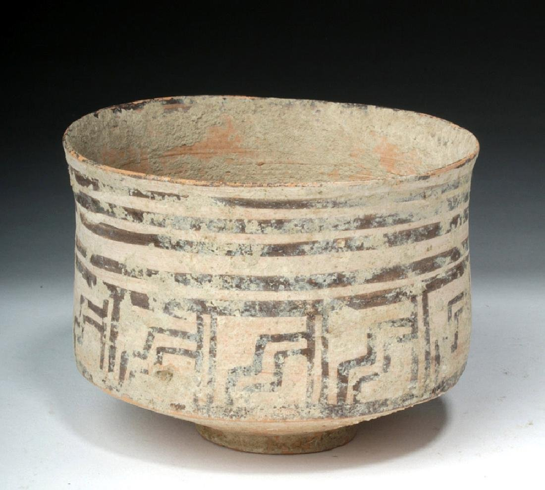 Indus Valley Geometric Pottery Bowl - Harappan