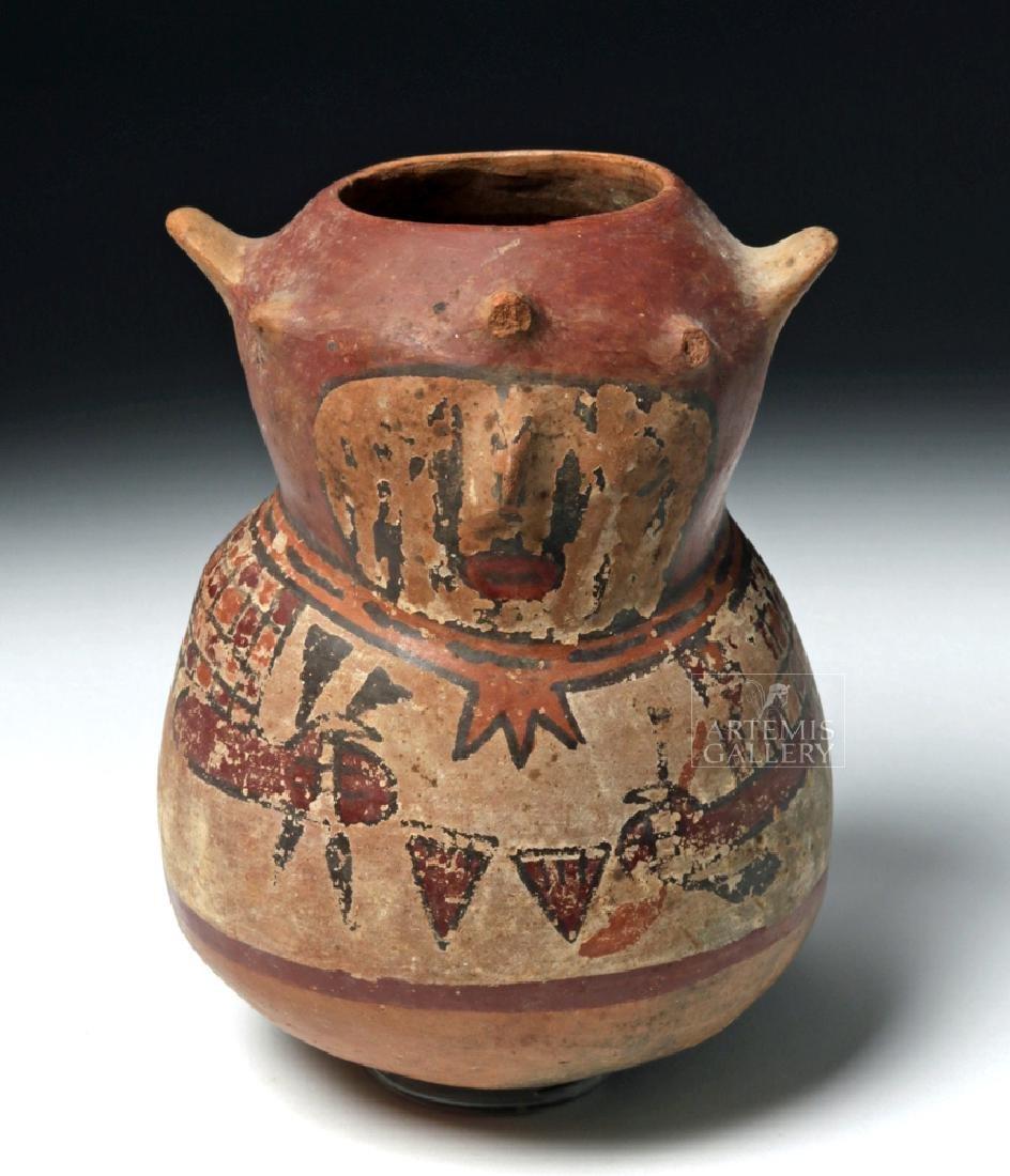 Unrestored Nazca Effigy Vessel
