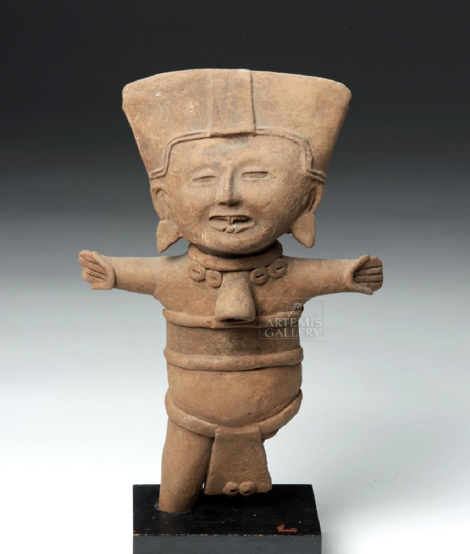 Classic Veracruz Pottery Standing Sonriente Ocarina
