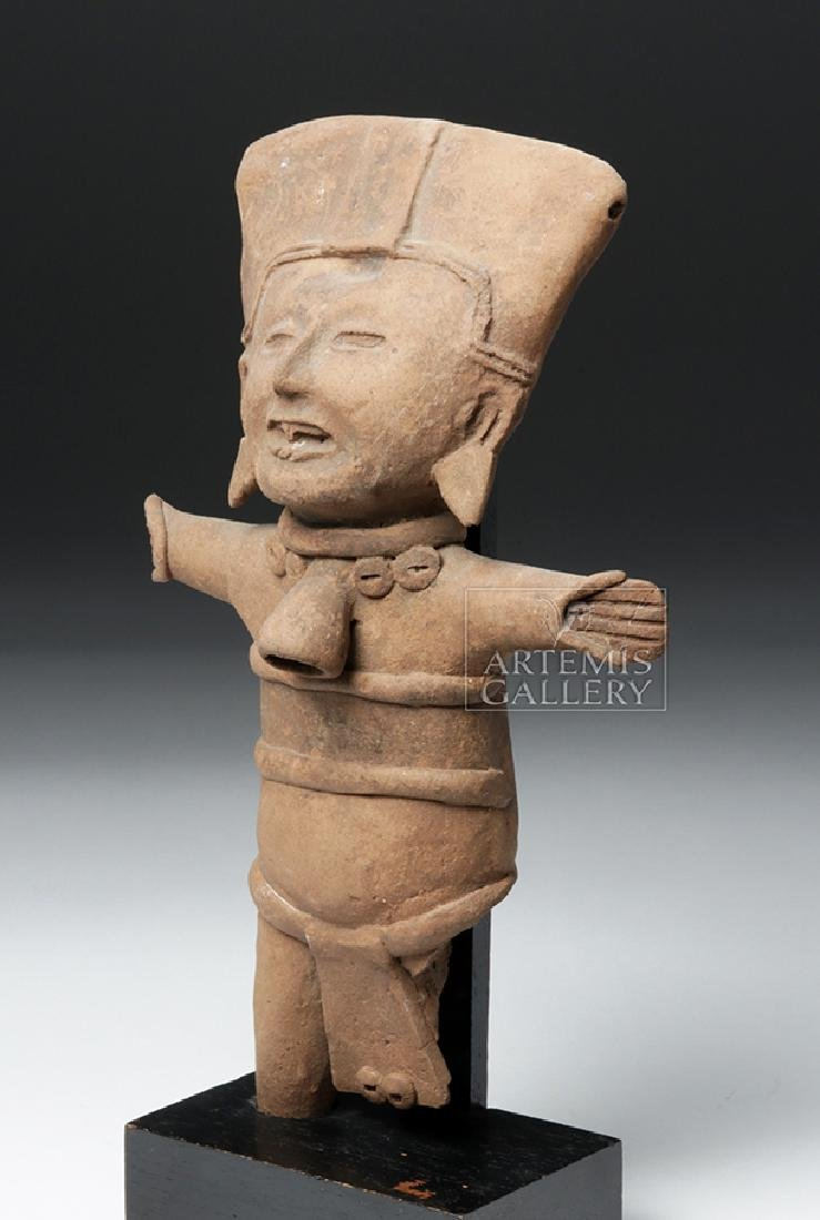 Classic Veracruz Pottery Standing Sonriente Ocarina - 2