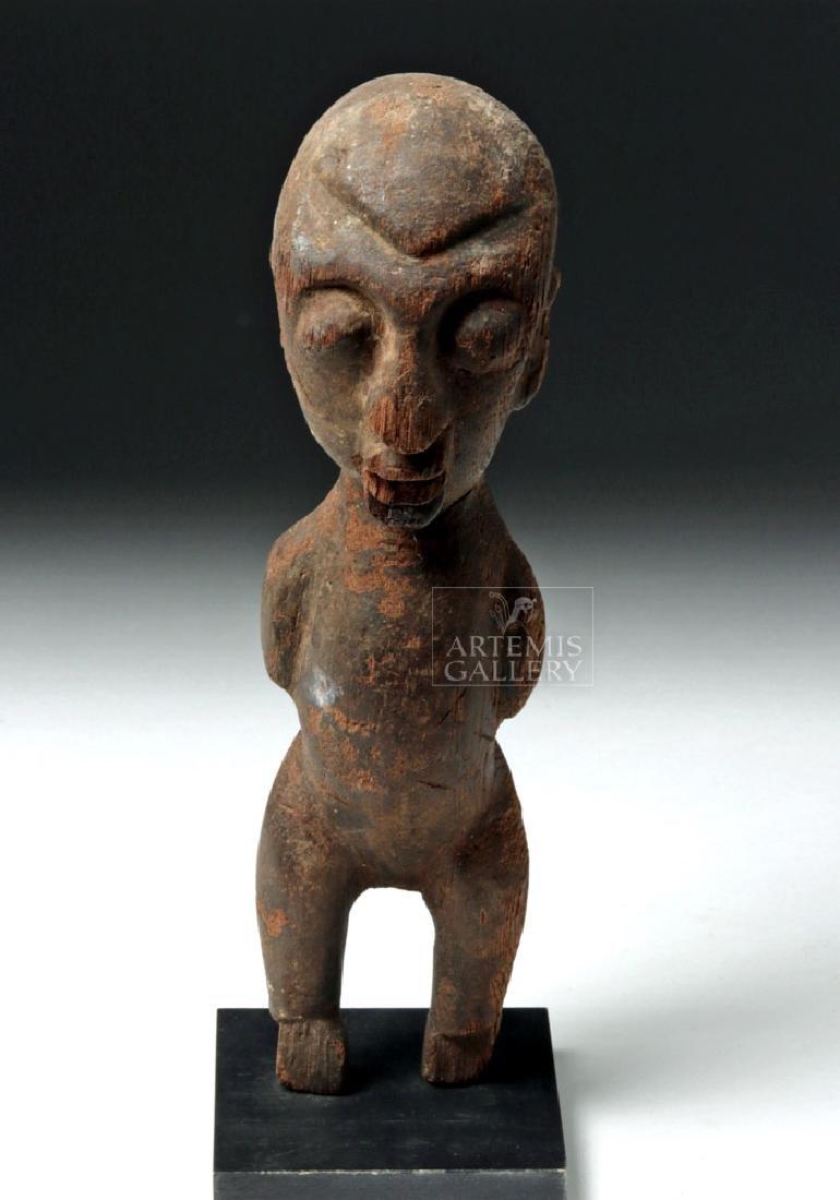 Early 20th C. African Lobi Wood Bateba Figure