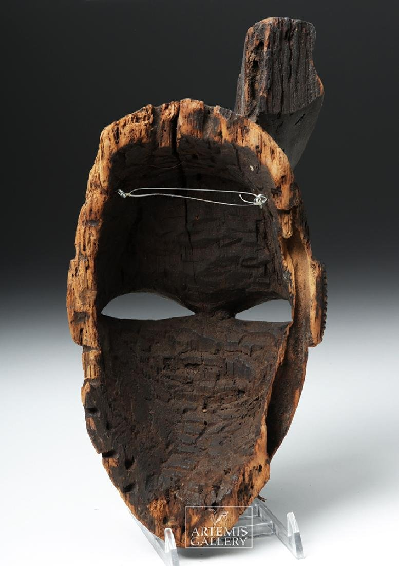 Mid-20th C. African Ogoni Wooden Karikpo Mask - 4
