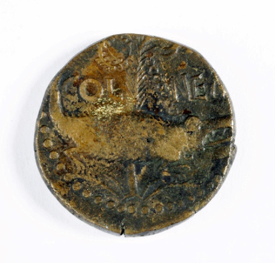 Bronze Dupondius of Octavian - 3