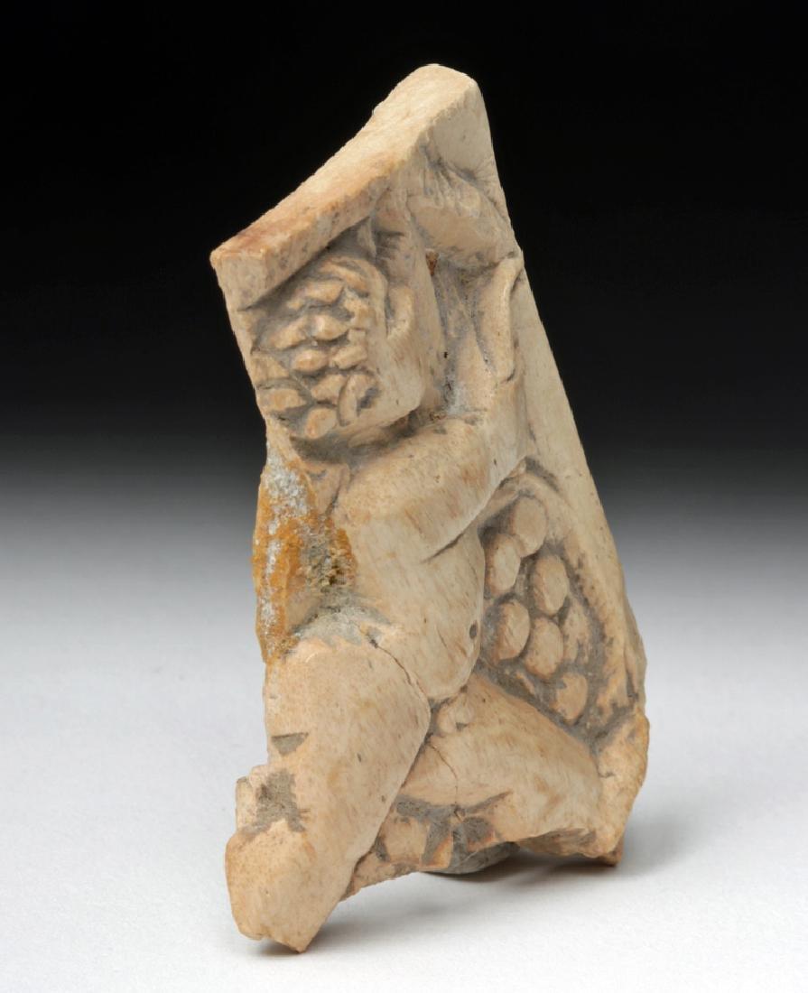Rare Roman Bone Carving of Cupid - 3