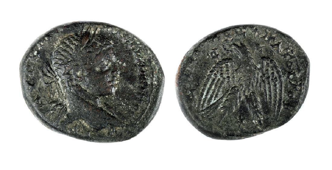 Roman Syrian Silver Tetradrachm of Elagabalus