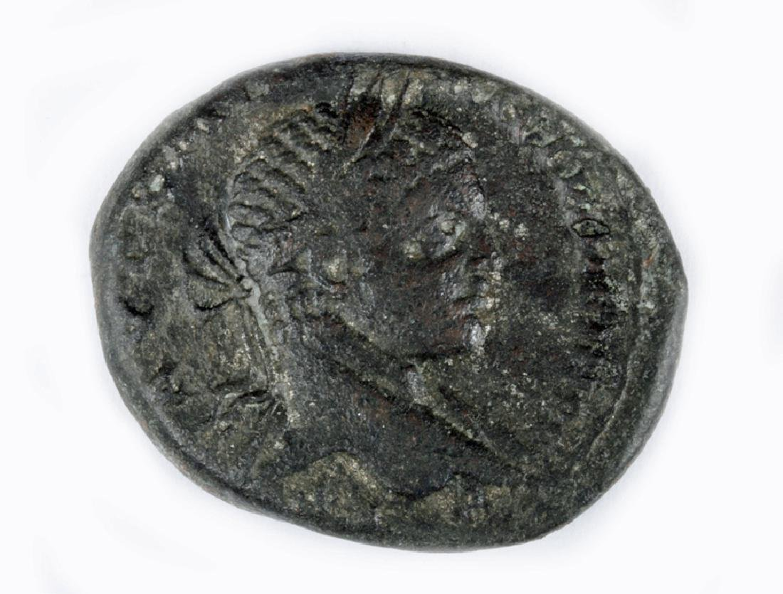 Roman Syrian Silver Tetradrachm of Elagabalus - 2