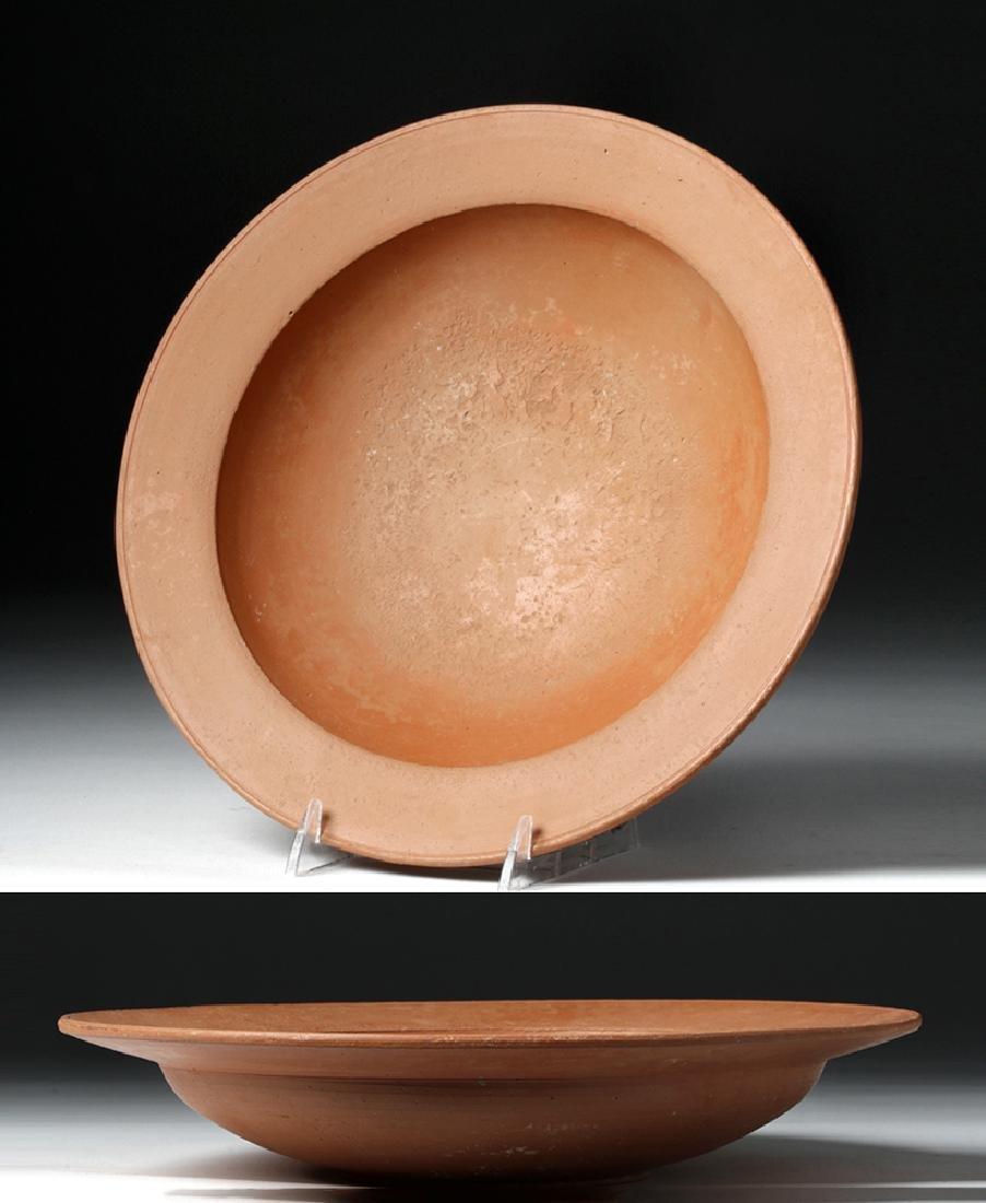 Roman Redware Shallow Bowl