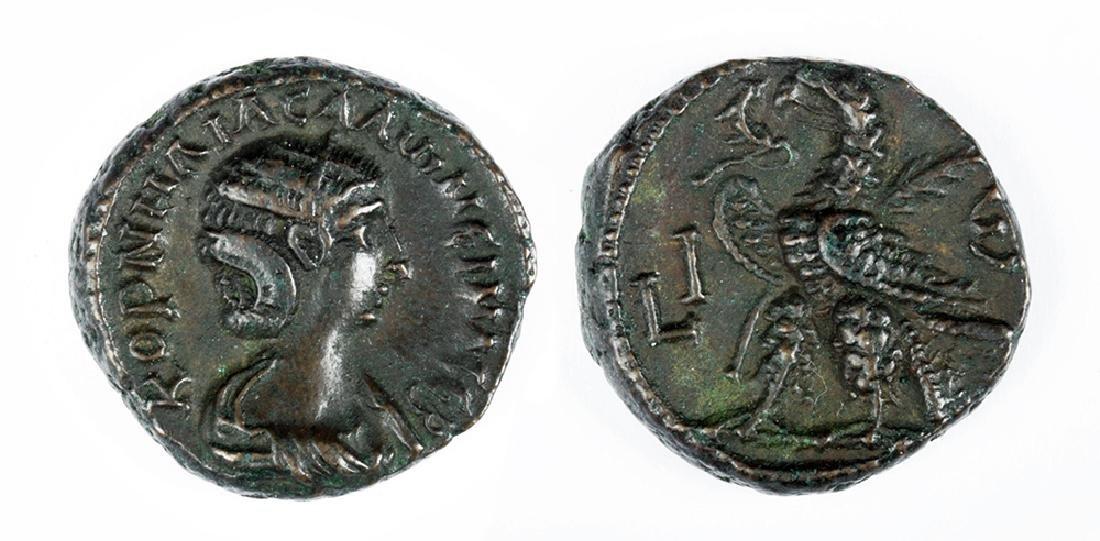 Roman Potin Tetradrachm of Salonina