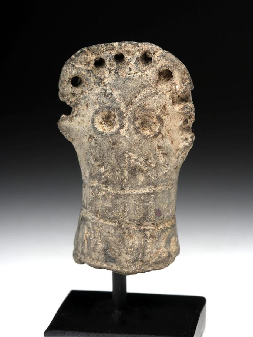 Rare Syro-Hittite Pottery Idol Head