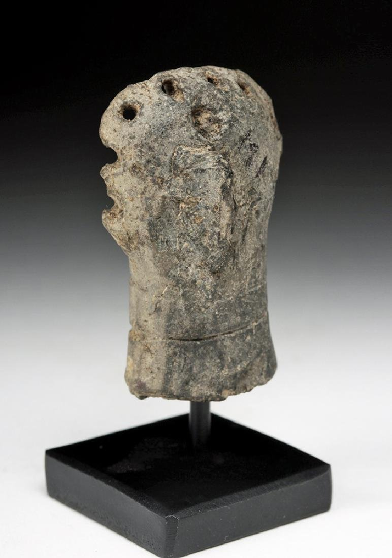 Rare Syro-Hittite Pottery Idol Head - 3