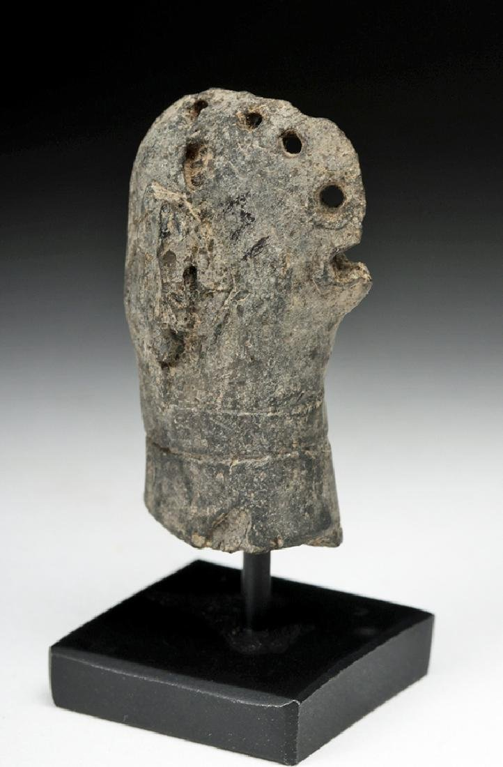 Rare Syro-Hittite Pottery Idol Head - 4