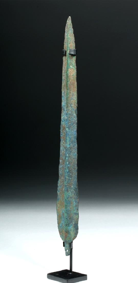 Western Asia / Luristan Bronze Dagger, ex-Piscopo - 2