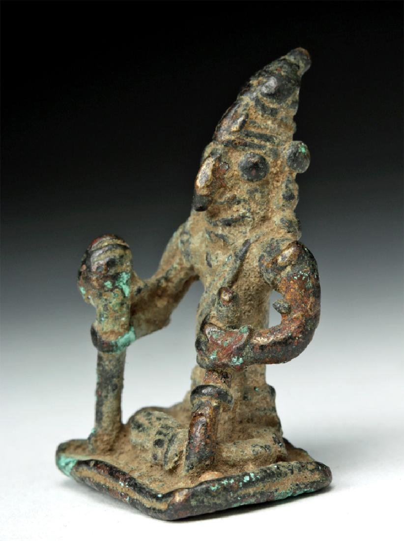 19th C. Indian Orissa Bronze Figure