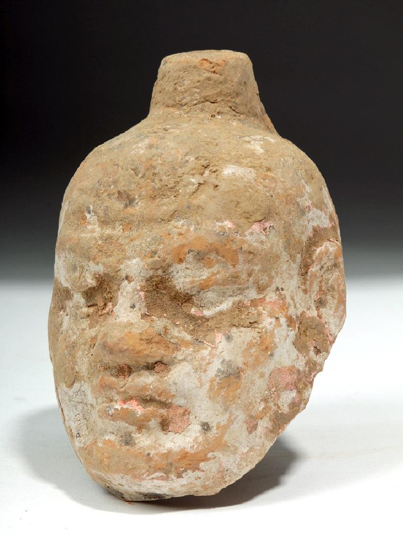 China Tang Dynasty Zhen Mushou Pottery Head