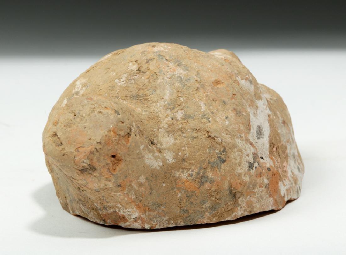 China Tang Dynasty Zhen Mushou Pottery Head - 4