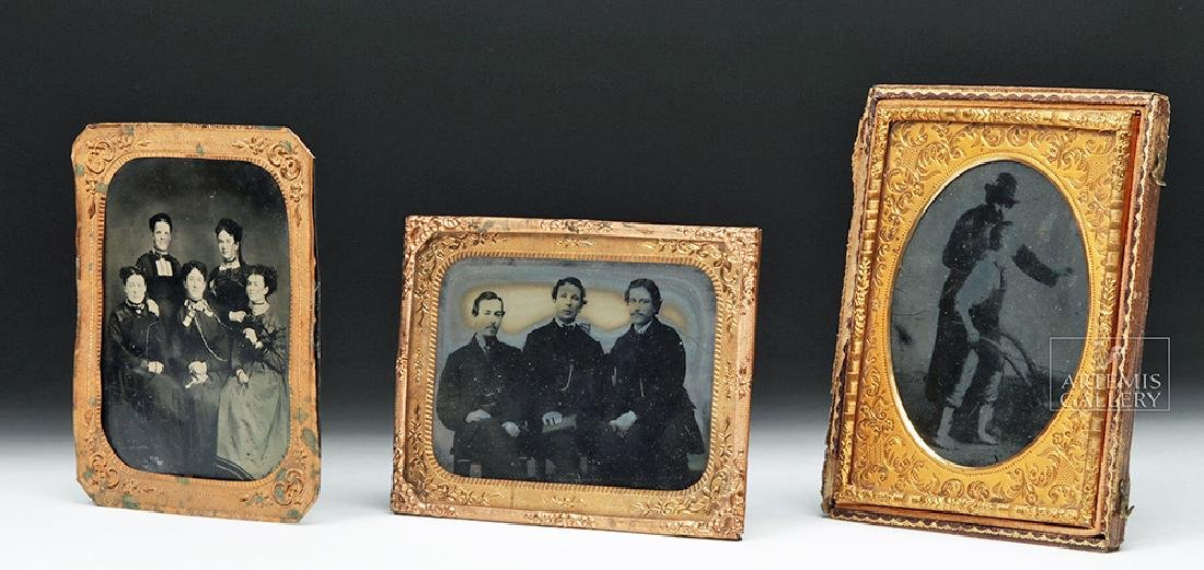 Trio of Mid-19th C. American Photographs