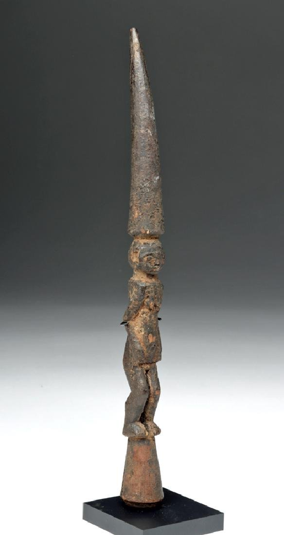 Early 20th C. African Yoruba Wooden Divination Tapper