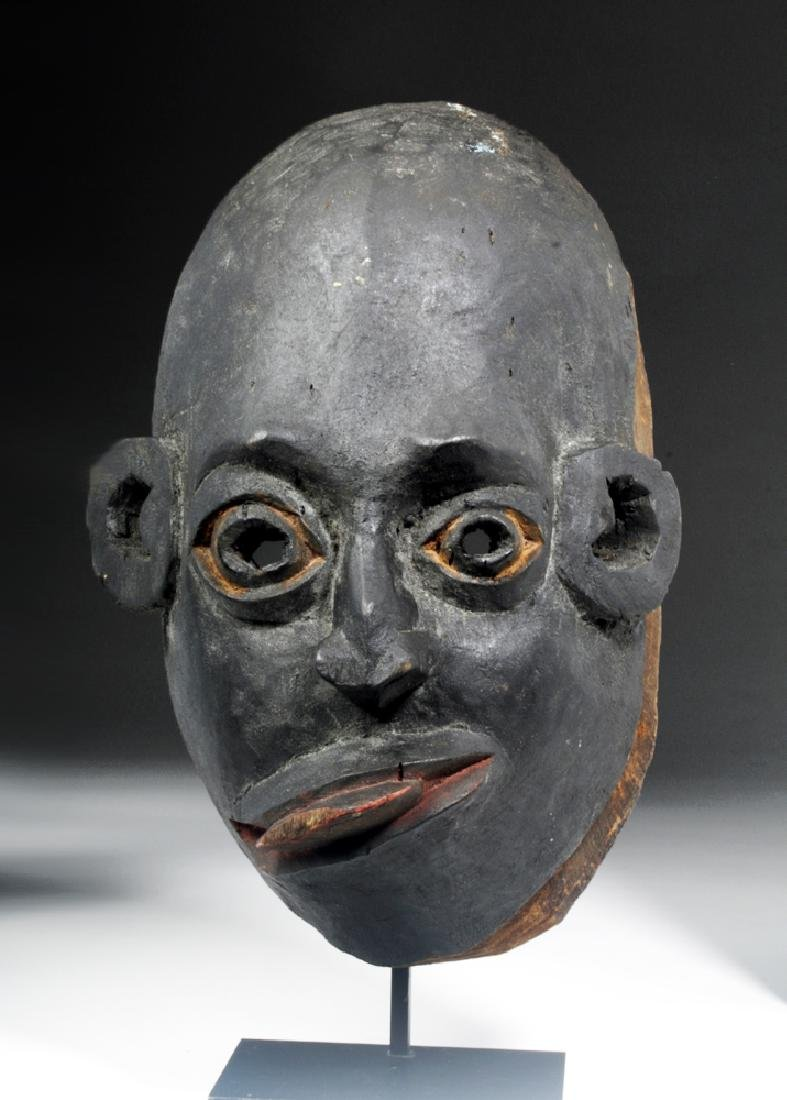 20th C. African Woyo Wooden Mask