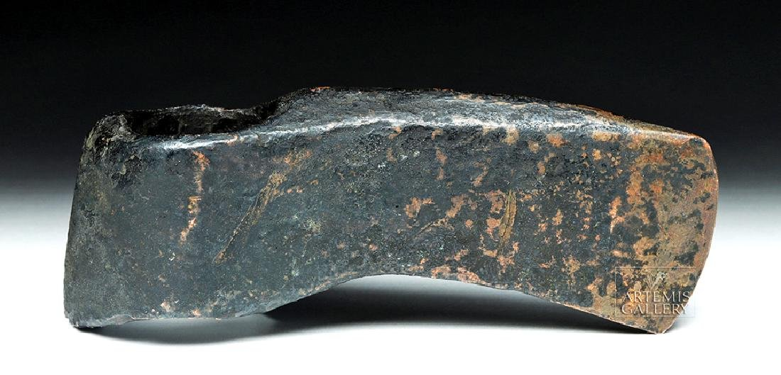 Early Central European Copper Socketed Axe, ex-Piscopo