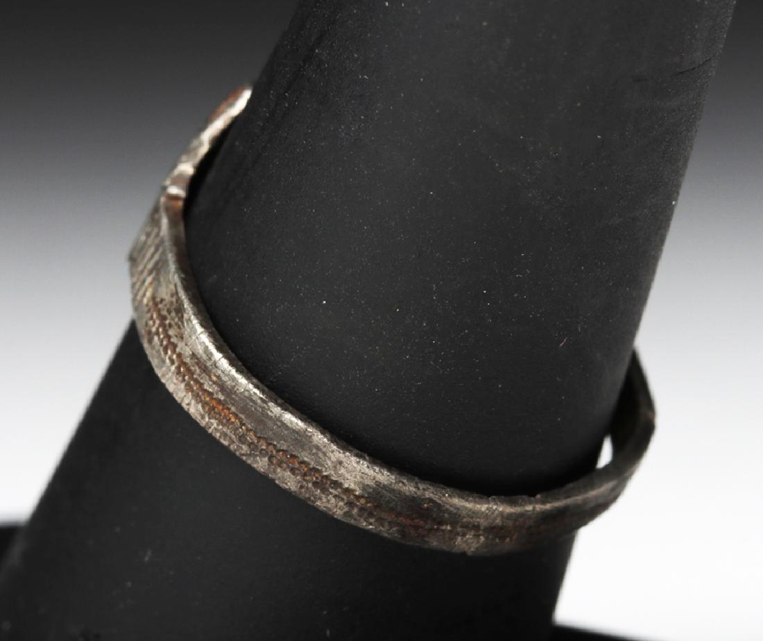 Late Medieval European Silver Ring - 2.1 grams - 4