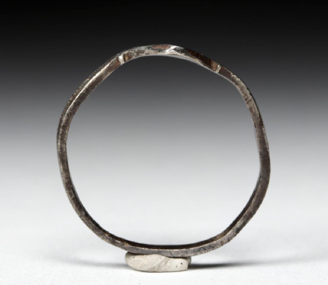 Late Medieval European Silver Ring - 2.1 grams - 5