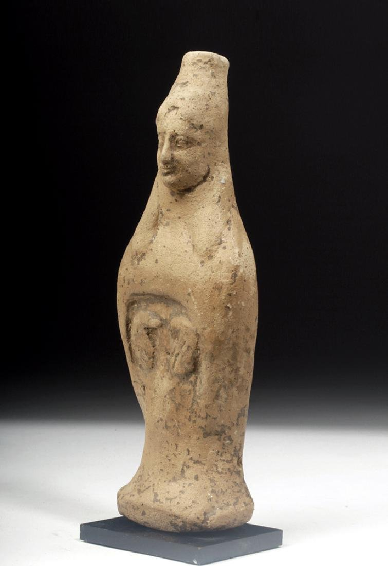Archaic Greek Terracotta Votive Figure of Goddess - 2