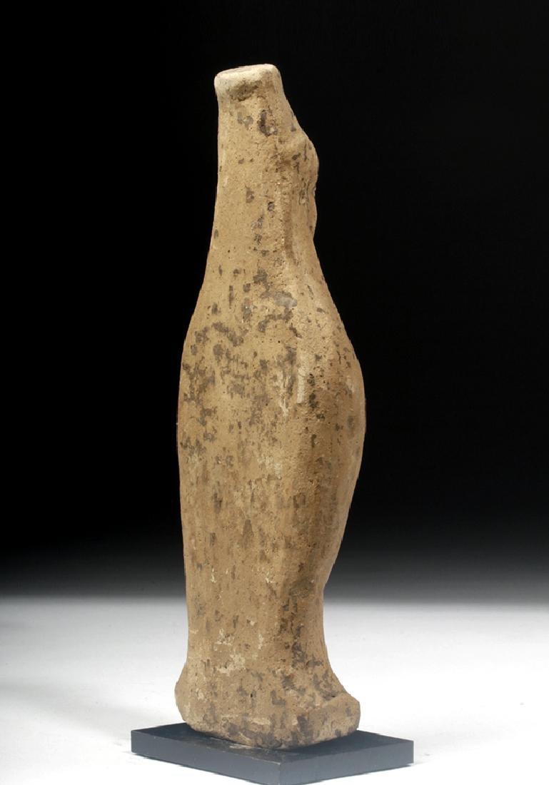 Archaic Greek Terracotta Votive Figure of Goddess - 4