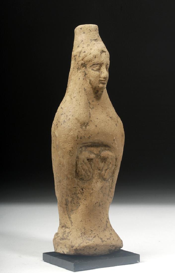 Archaic Greek Terracotta Votive Figure of Goddess - 5