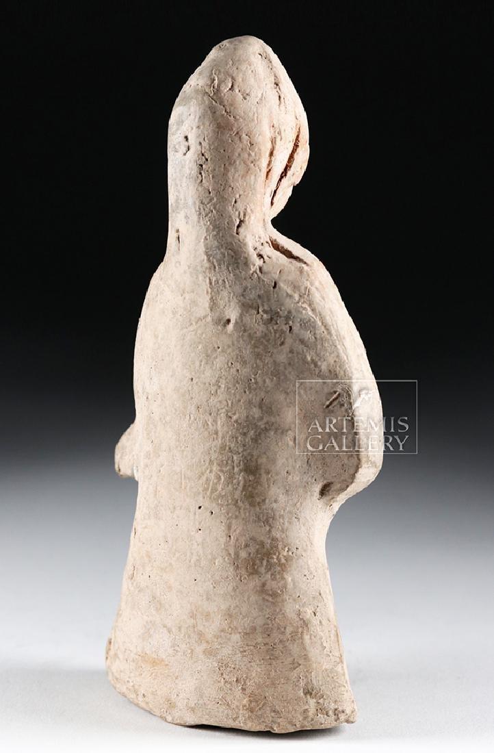 Rare Roman Terracotta Standing Youth - 4