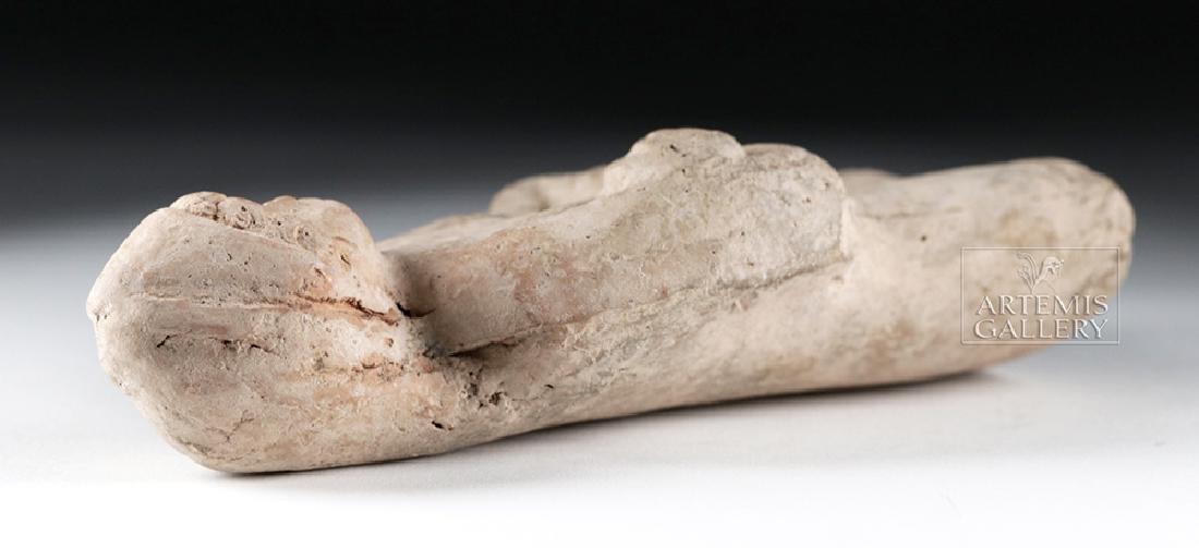Rare Roman Terracotta Standing Youth - 7