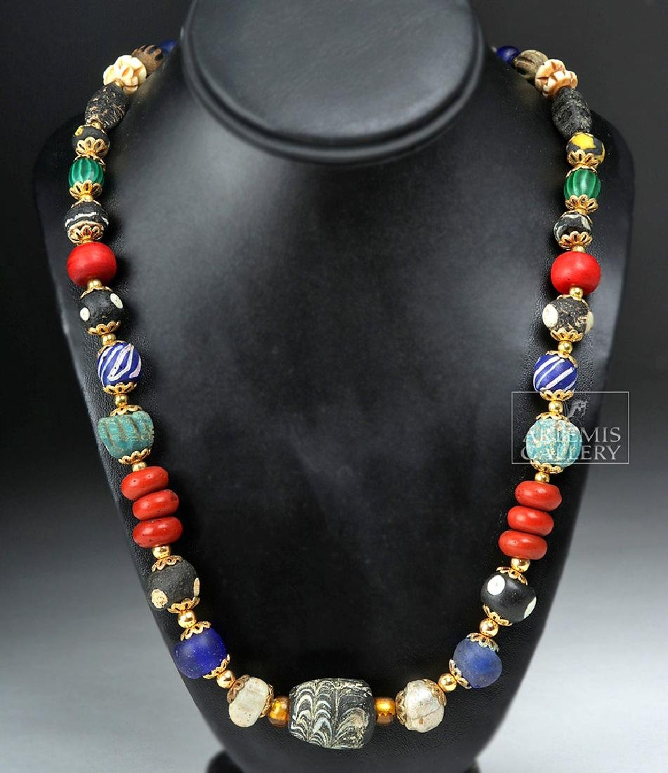 Ancient Greek & Persian Beaded Necklace