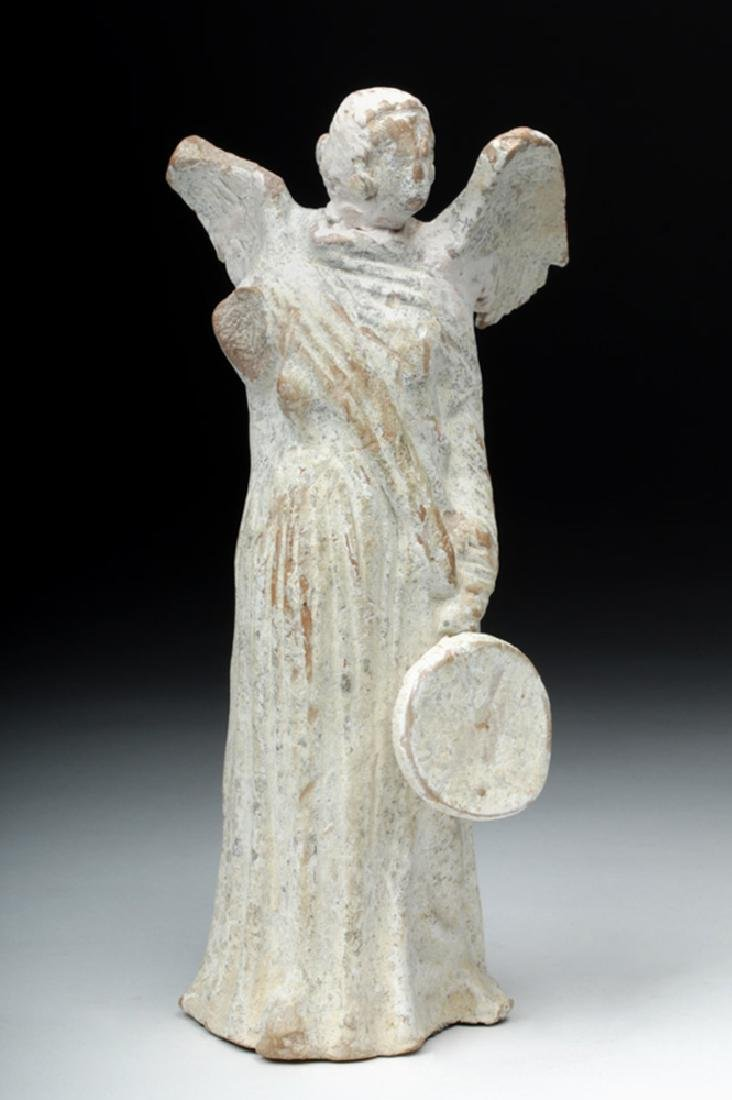 Greek Canosan Terracotta Nike Figure