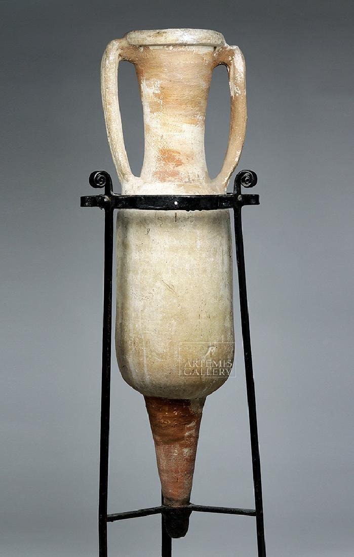Roman Pottery Transport Amphora - Dressel Type 1B