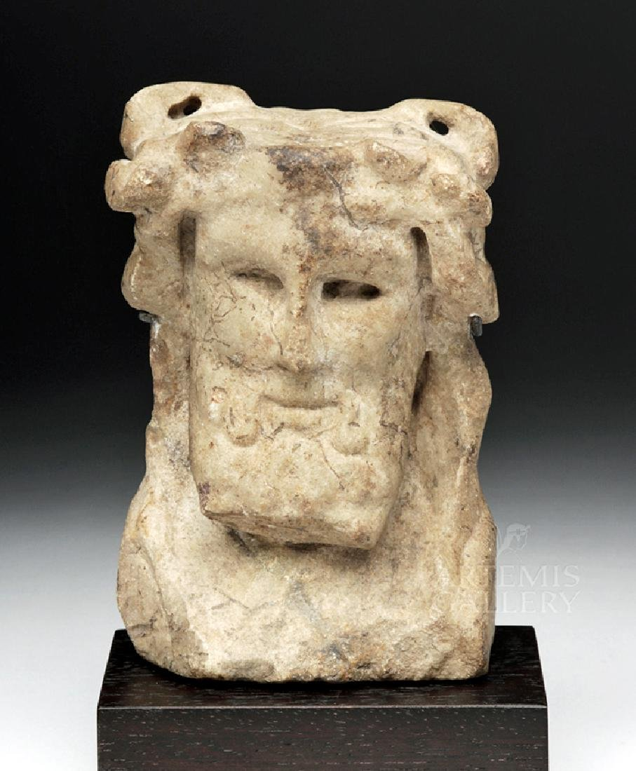 Fine Roman Marble Herm Bust of Bacchus / Dionysos