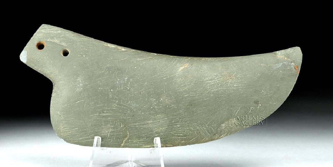 Egyptian Pre-Dynastic Slate Ceremonial Knife Blade
